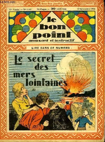 Le bon point, amusant et instructif. 23ème année, n°1145 : Le secret des mers lointaines.