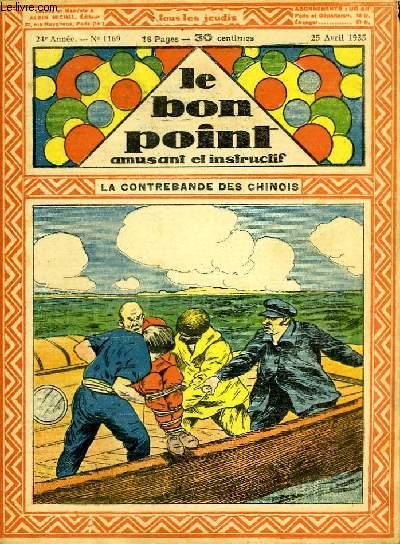 Le bon point, amusant et instructif. 24ème année, n°1169 : Le contrebande des chinois.