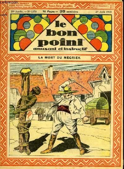 Le bon point, amusant et instructif. 24ème année, n°1178 : La mort du négrier.