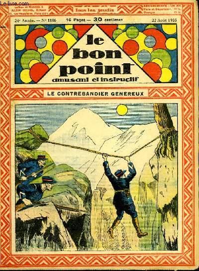 Le bon point, amusant et instructif. 24ème année, n°1186 : Le contrebandier généreux.