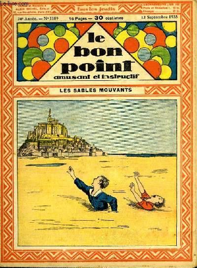 Le bon point, amusant et instructif. 24ème année, n°1189 : Les sables mouvants.
