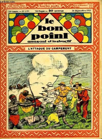 Le bon point, amusant et instructif. 24ème année, n°1191 : l'attaque du campement.