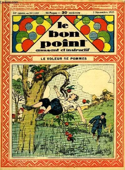 Le bon point, amusant et instructif. 24ème année, n°1197 : Le voleurs de pommes.