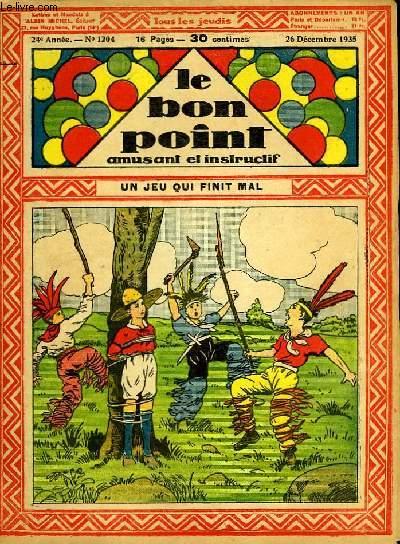 Le bon point, amusant et instructif. 24ème année, n°1204 : Un jeu qui finit mal.