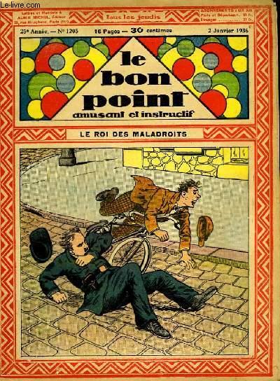 Le bon point, amusant et instructif. 25ème année, n°1205 : Le roi des maladroits.