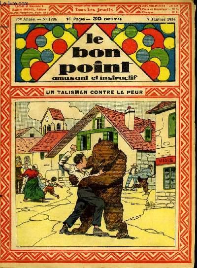 Le bon point, amusant et instructif. 25ème année, n°1206 : Un talisman contre la peur.