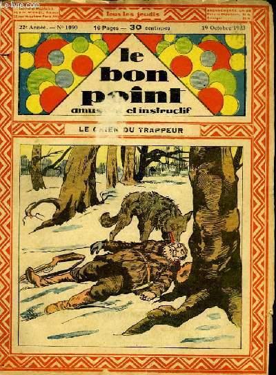 Le bon point, amusant et instructif. 22ème année, n°1090 : Le chien du trappeur.