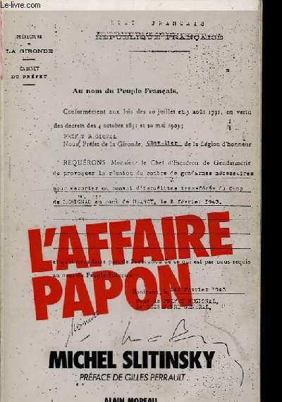 L'Affaire Papon.