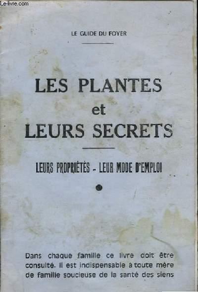 Les plantes et leurs secrets.