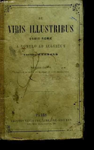 De Viris Illustribus Urbis Romae a Romulo ad Augustum.
