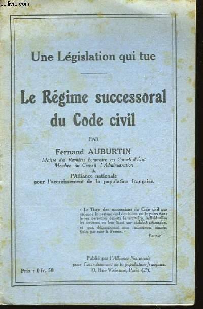 Le Régime successoral du Code Civil