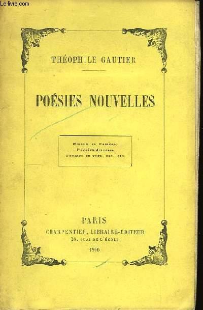 Poésies Nouvelles.