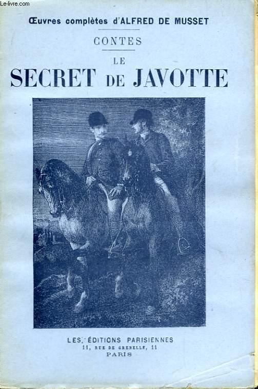 Contes. Le Secret de Javotte.