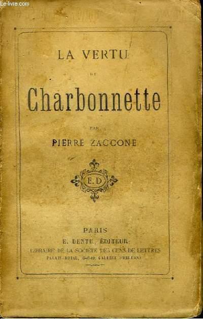 La Vertu de Charbonnette.