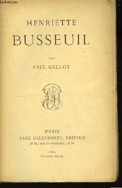 Henriette Busseuil