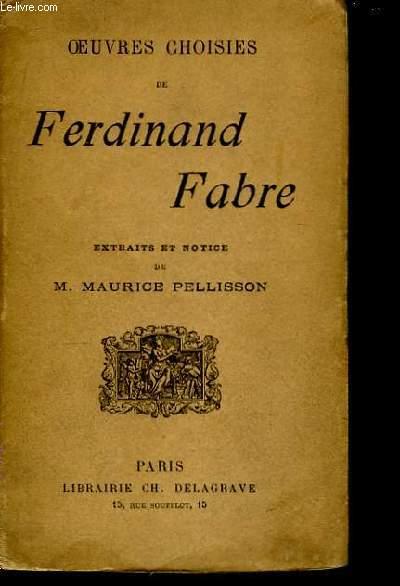 Oeuvres de Ferdinand Fabre