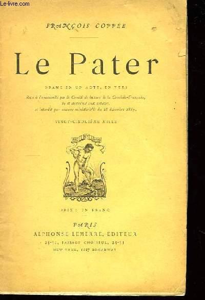 Le Pater.