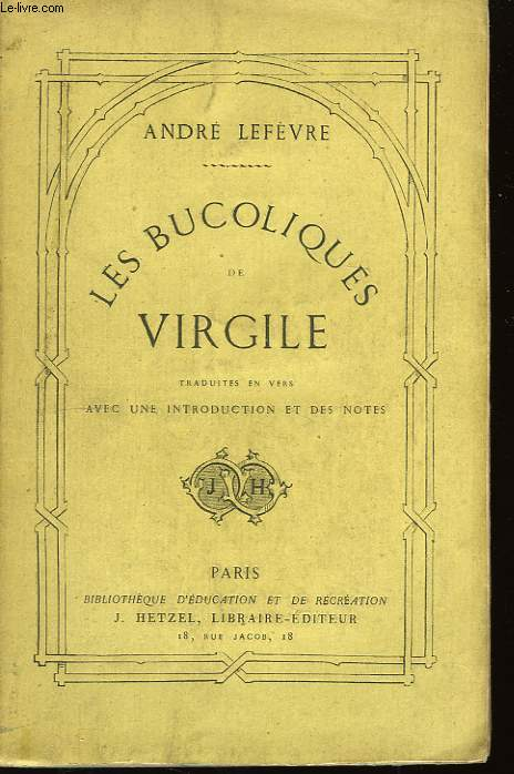 Les Buccoliques de Virgile.