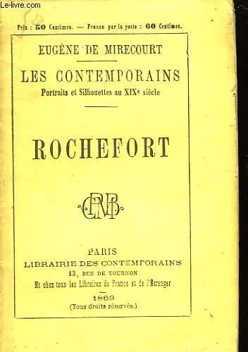 Les Contemporains. Rochefort.