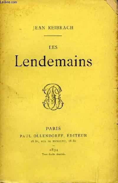 Les Lendemains.