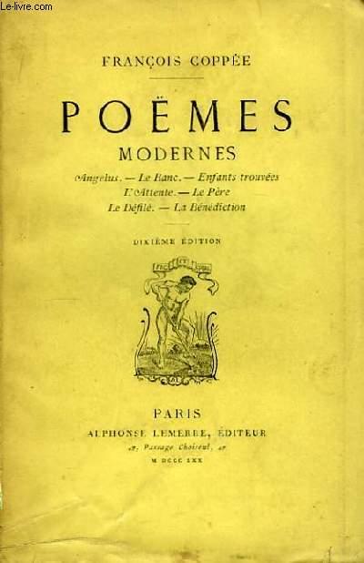 Poèmes Modernes.