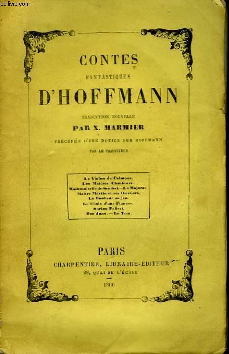 Contes Fantastiques d'Hoffmann.