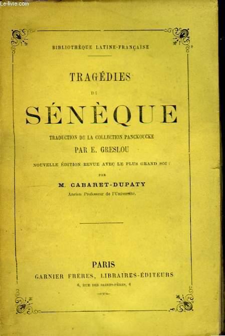 Tragédies de Sénèque