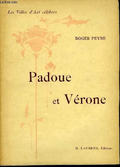 Padoue et Vérone.