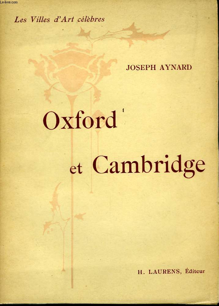Oxford et Cambridge.