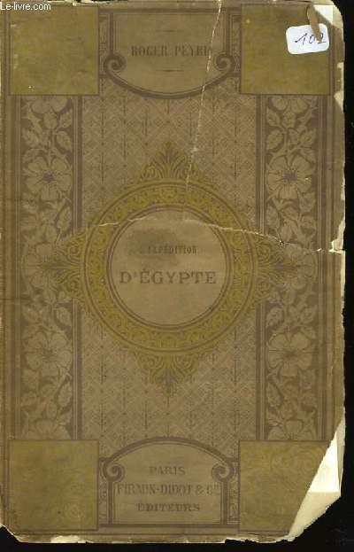 L'expédition d'Egypte.