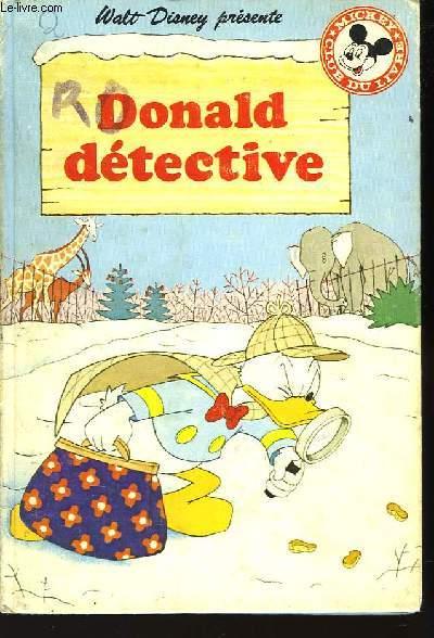Donald Détective