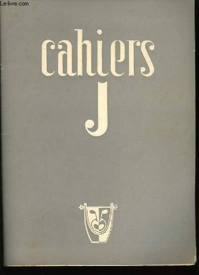 Cahiers JA n°3, 9ème année.