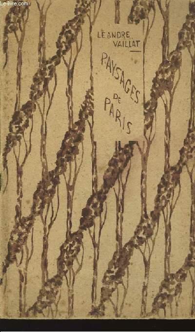 Paysages de Paris.