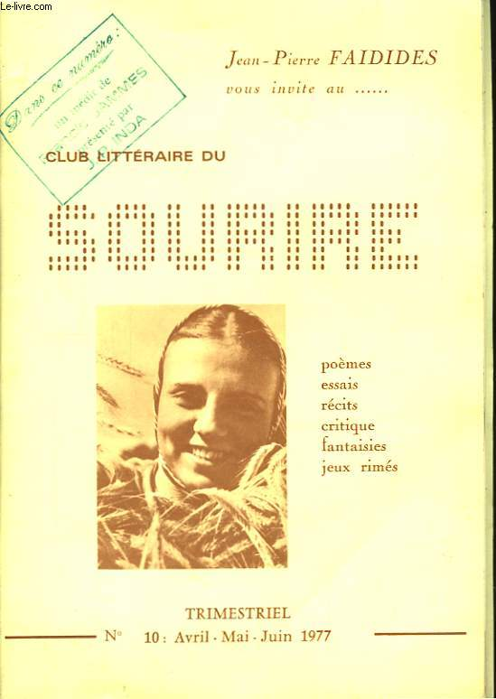 Club littéraire du Sourire n°10