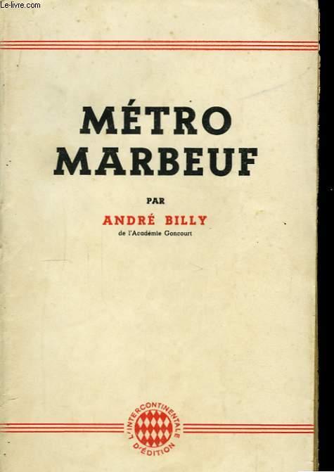 Métro Marbeuf