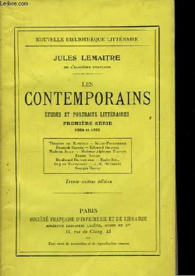 Les Contemporains. 1ère série : 1884 et 1885.