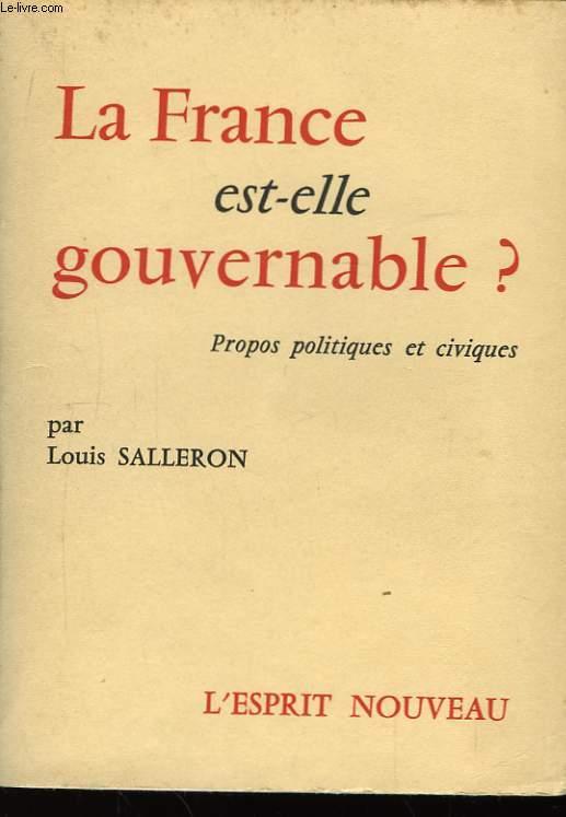 La France est-elle gouvernable ?