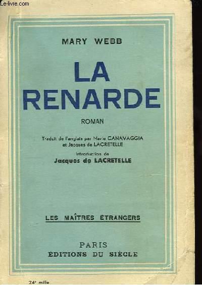 La Renarde.