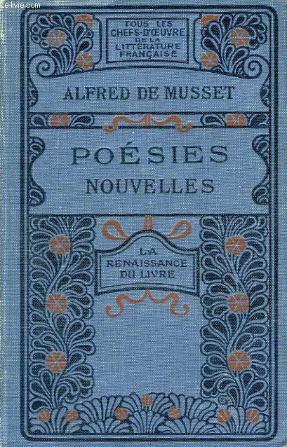 Poésies Nouvelles 1836 à 1852.