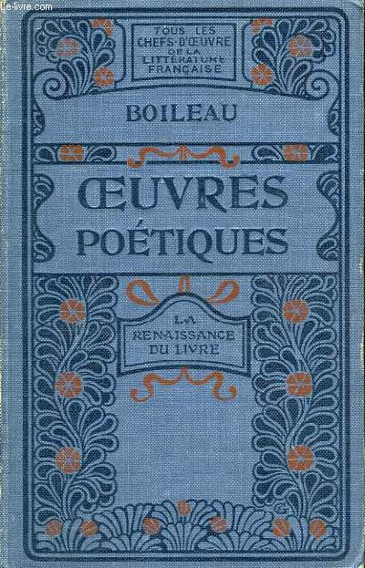 Oeuvres Poétiques.