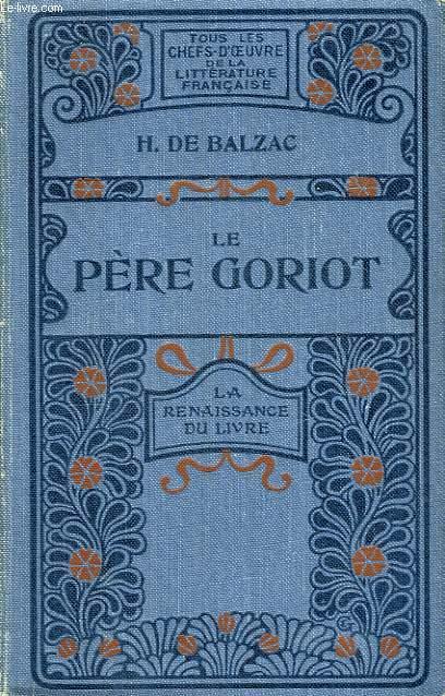 Le Père Goriot.