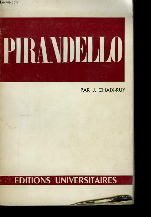 Pirandello Luigi.