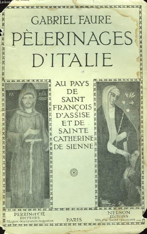 Pèlerinages d'Italie.