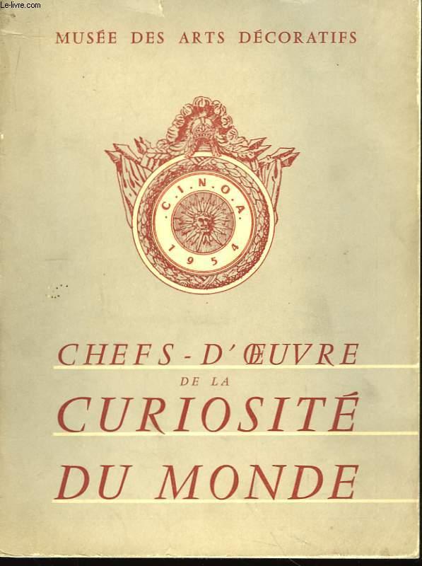 Chefs d'oeuvre de la curiosité du Monde.