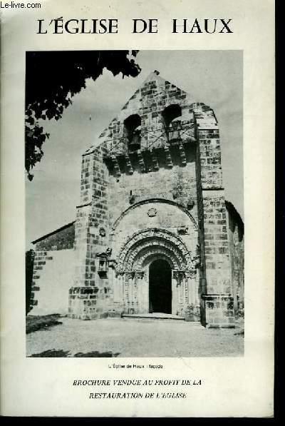 L'Eglise de Haux.