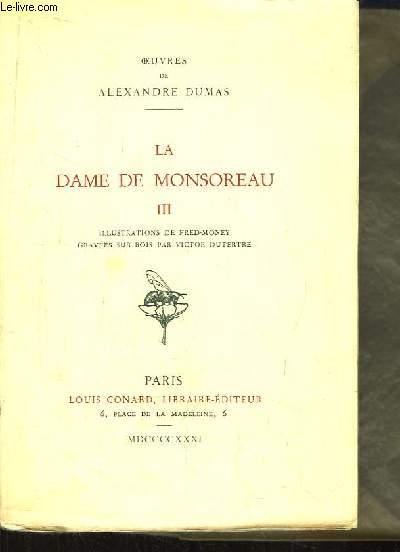 La Dame de Monsoreau. TOME3