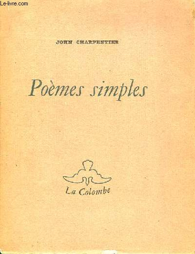 Poèmes simples.