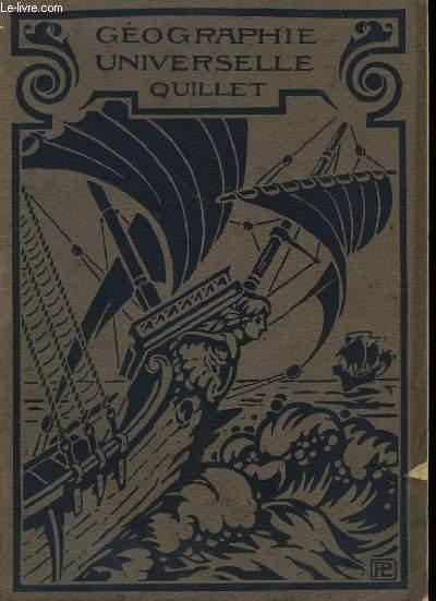 Géographie Universelle Quillet. En 2 Volumes.