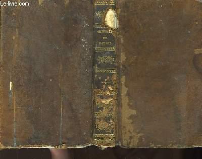Oeuvres de Jean Racine. TOME IV : Lettres sur les Imaginaires.