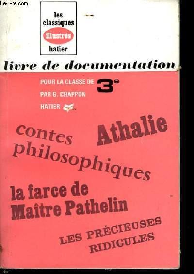 Livre de documentation, pour la classe de 3ème.